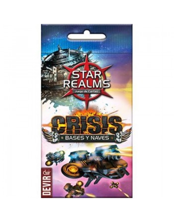 Star realms crisis: Bases y...