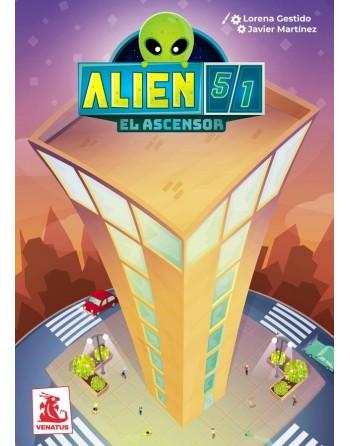 Alien 51. El ascensor