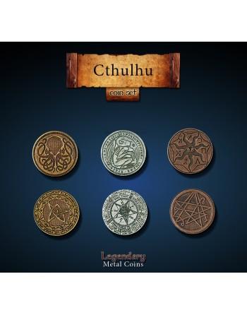 Set de monedas: Cthulhu (24...