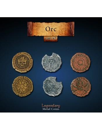 Set de monedas: Orc (24...