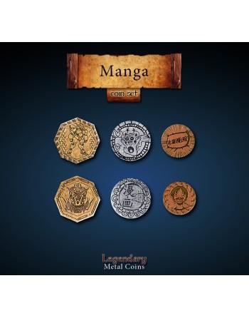 Set de monedas: Manga (24...
