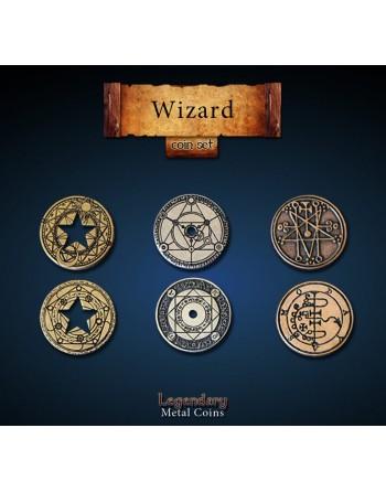 Set de monedas: Mago (24...