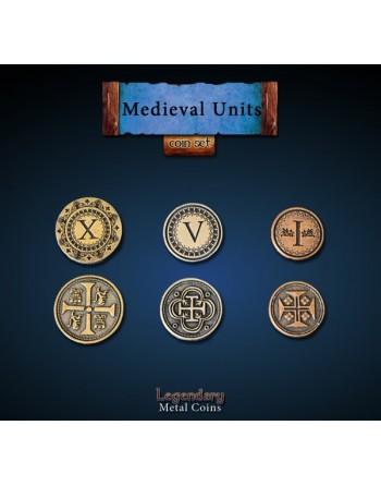 Set de monedas: Medievales...