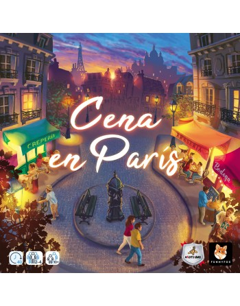 Cena en París - Disponible...