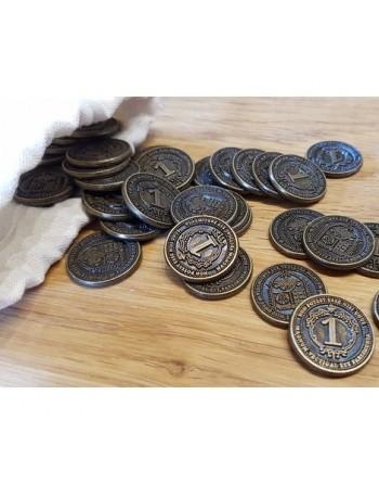 Monedas metálicas para Glen...