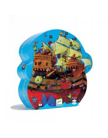Puzzle silueta: El barco...